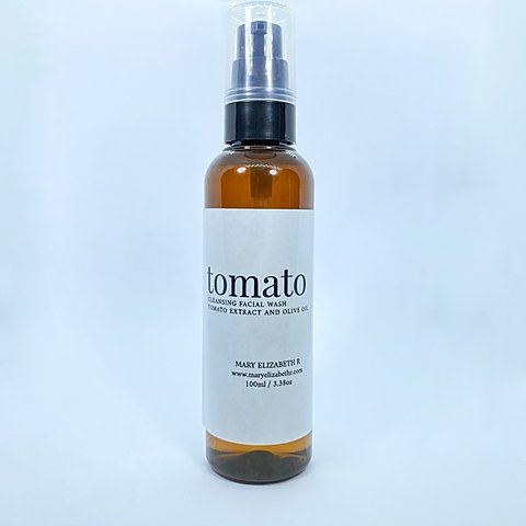 Maryelizabethr Tomato Facial Wash