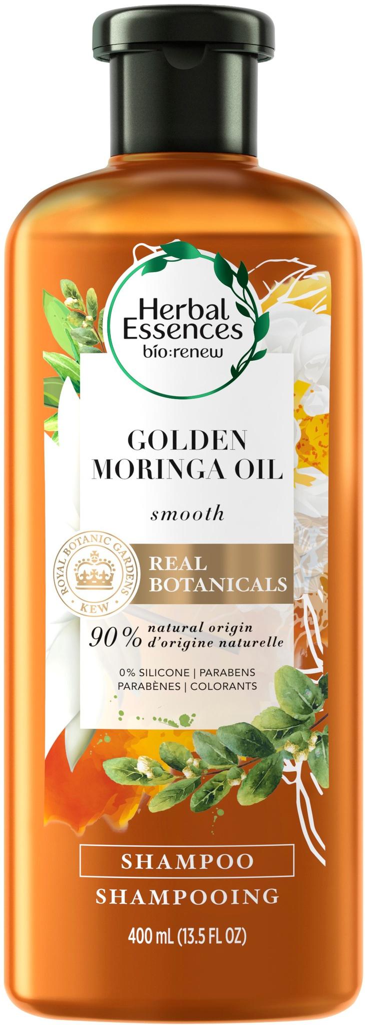 Herbal Essences Golden Moringa Oil Smoothing Shampoo