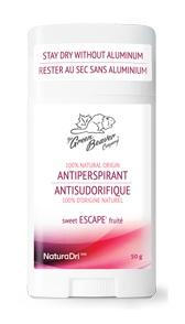 The Green Beaver Company Antiperspirant Deodorant - Sweet Escape Fruite