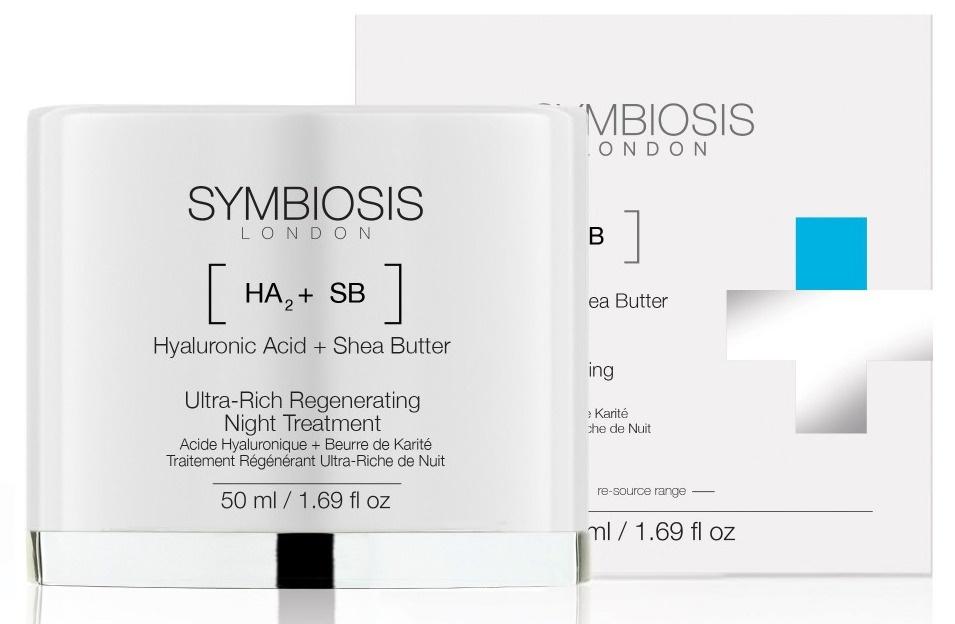 Symbiosis London Hyaluronic Acid + Shea Butter - Ultra-Rich Regenerating Night Treatment