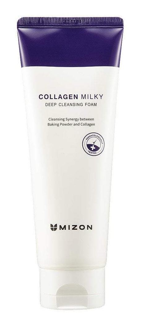 Mizon Collagen Milky Deep Cleansing Foam
