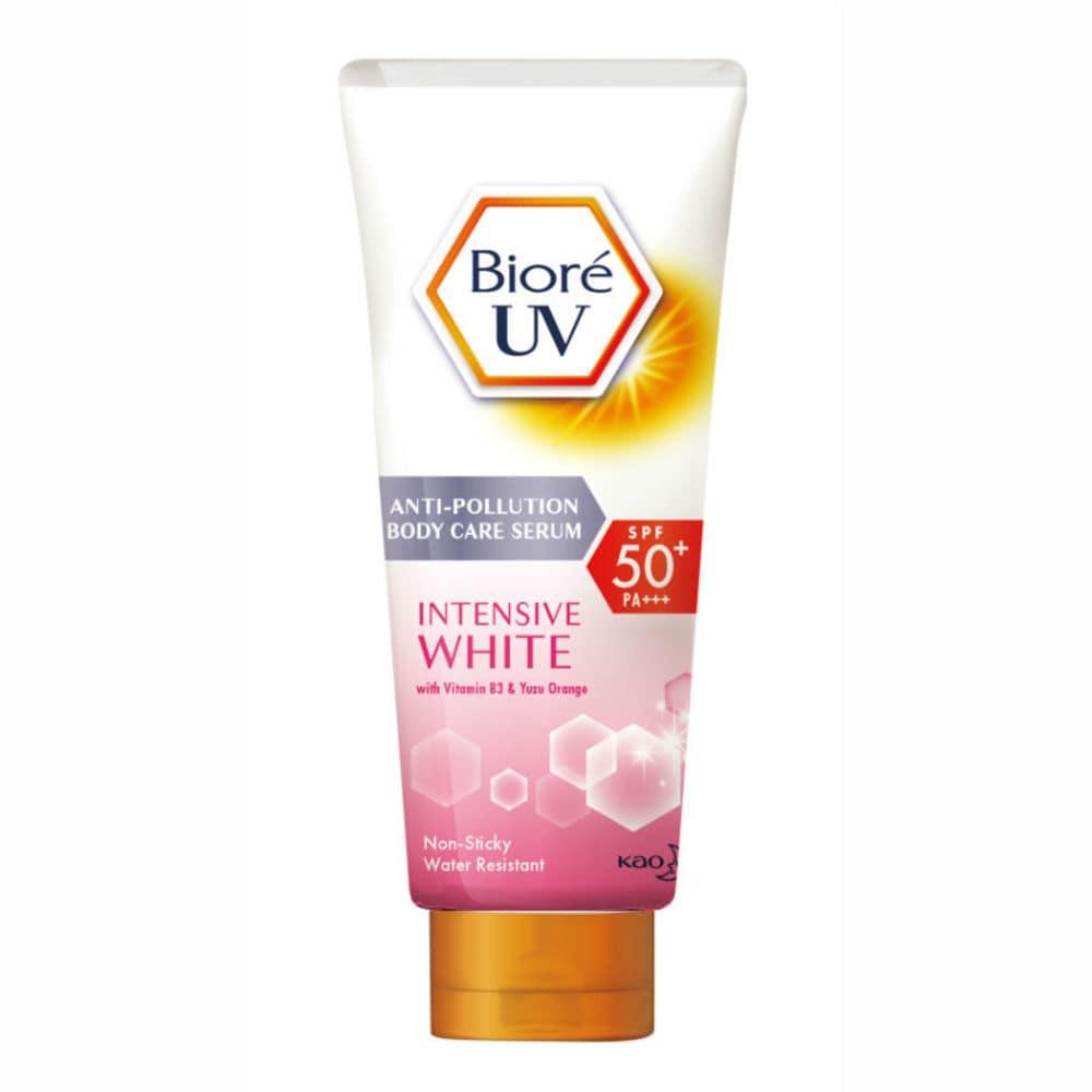 Biore Uv Anti-Pollution Body Care Serum Intensive White Spf50+ Pa+++