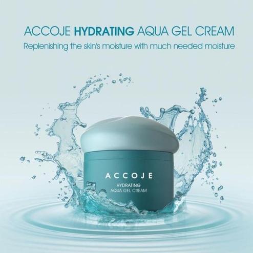 Accoje Hydrating Aqua Gel Cream (50Ml)