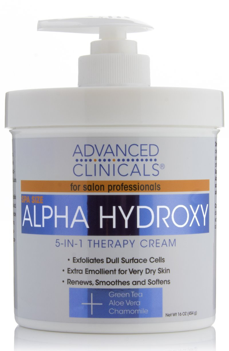 Advanced Clinicals Alpha Hydroxy Acid Cream