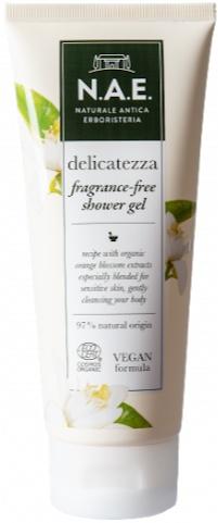 N.A.E. Delicatezza Fragrance-Free Shower Gel
