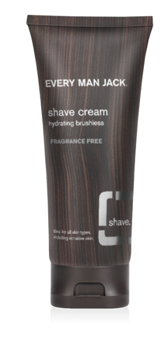Every Man Jack Fragrance Free Shave Cream