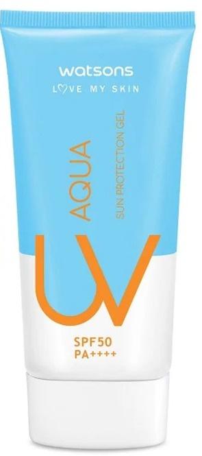 Watsons Aqua UV Whitening Sun Protection Facial Gel SPF 50 Pa++++