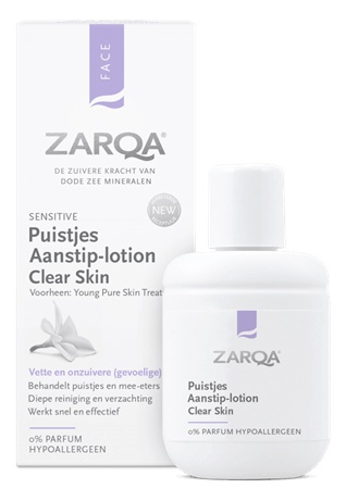 Zarqa Puistjes Aanstiplotion Clear Skin