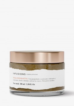 Infusions Aloe and rosehip face mask