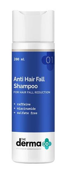 The derma CO Anti Hairfall Shampoo