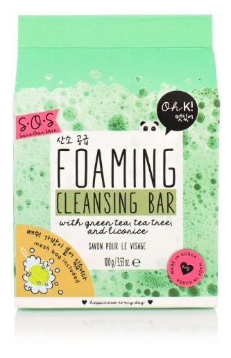 Oh K SOS Foaming Cleansing Bar