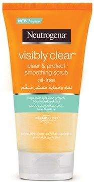 Neutrogena Visibly Clear Clear & Protect Daily Scrub