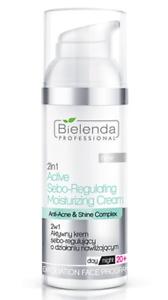 Bielenda professional 2 In 1 Active Sebo-Regulating Moisturizing Cream Anti-Acne & Shine Complex