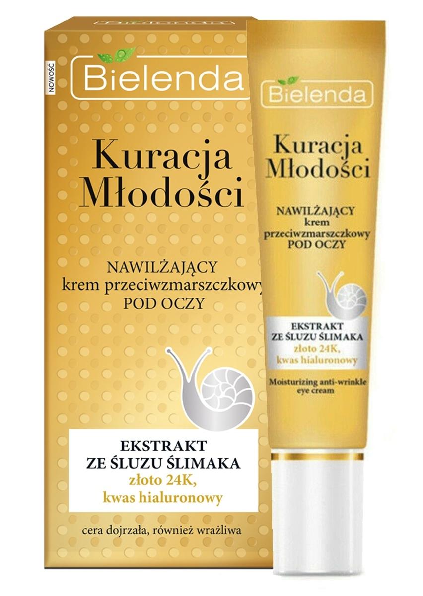 Bielenda Youth Therapy   Anti-Wrinkle Moisturizing Eye Cream With Snail Mucin