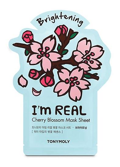 TonyMoly I'M Real Cherry Blossom Sheet Mask