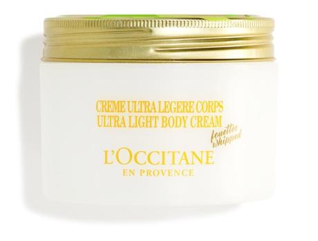 L' Occitane Ultra Light Body Cream With Shea Butter And Bergamot