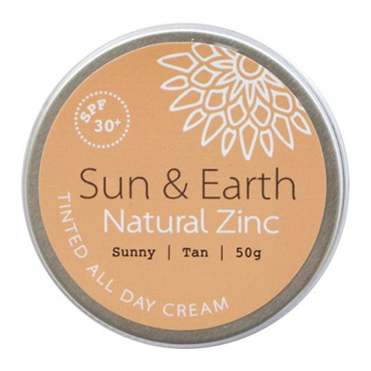 Sun & Earth Natural Zinc - Sunny Tan