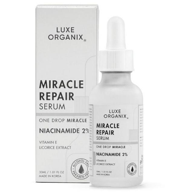 Luxe Organix Miracle Repair Serum Niacinamide 2%