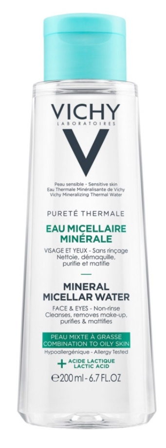 Vichy Pureté Thermale Micellar Water For Combination To Oily Skin