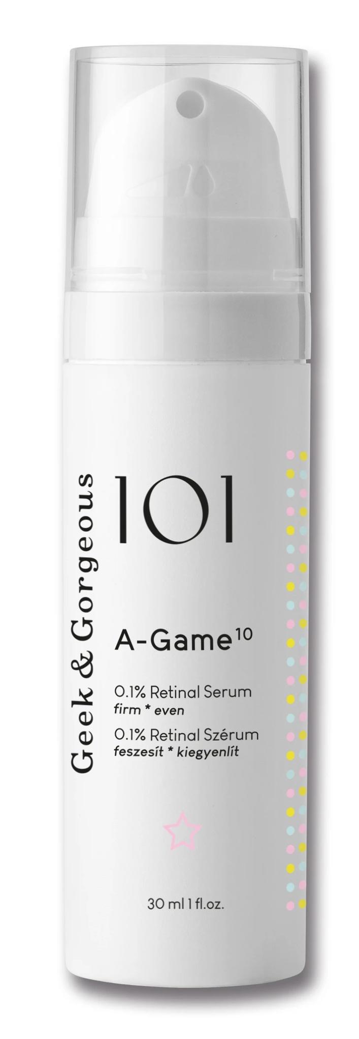 Geek & Gorgeous 101 A-Game 10 0.1% Retinal Serum