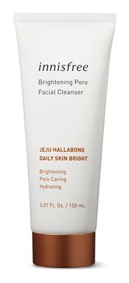 innisfree Jeju Hallabong Daily Skin Bright, Brightening Pore Facial Cleanser