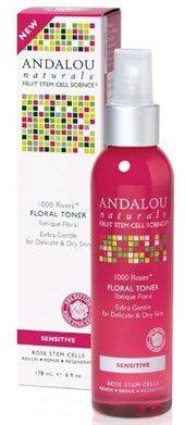 Andalou Naturals Sensitive 1000 Roses Floral Toner