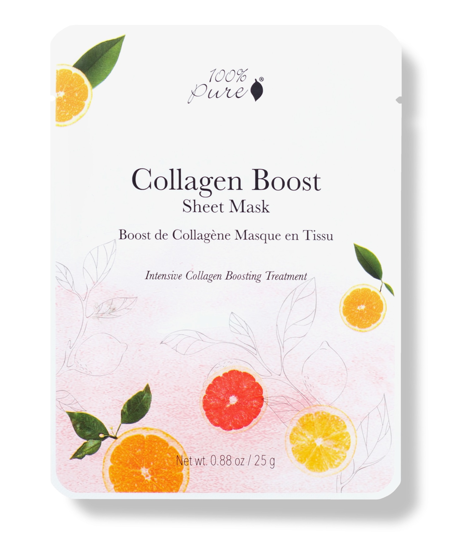 100% Pure Collagen Boost Sheet Mask