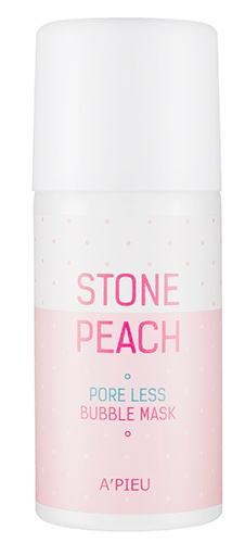 A'pieu Stone Peach Pore Less Bubble Mask