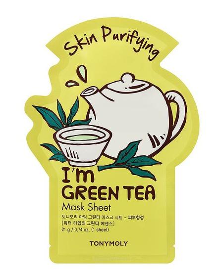 TonyMoly I'm Green Tea Mask Sheet - Skin Purifying