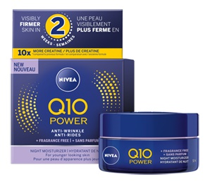 Nivea Q10 Power Anti-Wrinkle Sensitive Face Night Cream Moisturiser