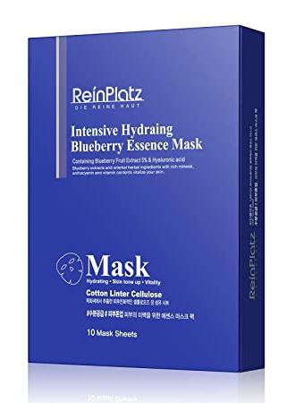 ReinPlatz Intensive Hydrating Blueberry Essence Mask