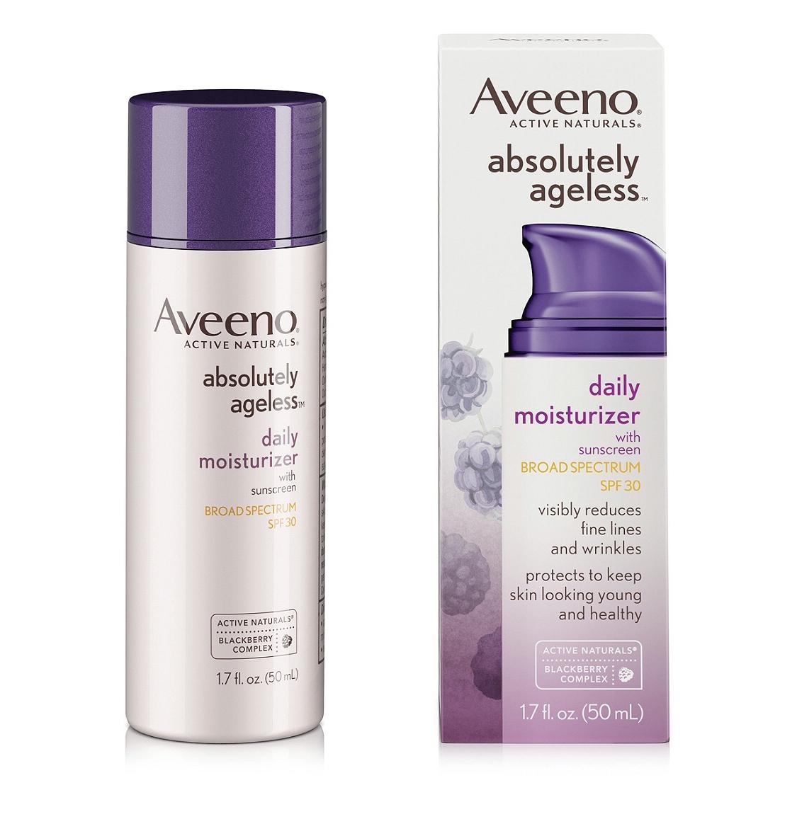 Aveeno Absolutely Ageless Daily Moisturizer Spf 30