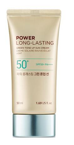 The Face Shop Power Long-Lasting Green Tone Up Sun Cream