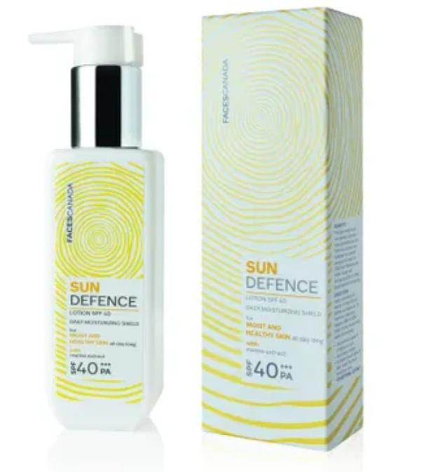 Faces Canada SunDefence Daily Moisturising Shield Sunscreen Lotion