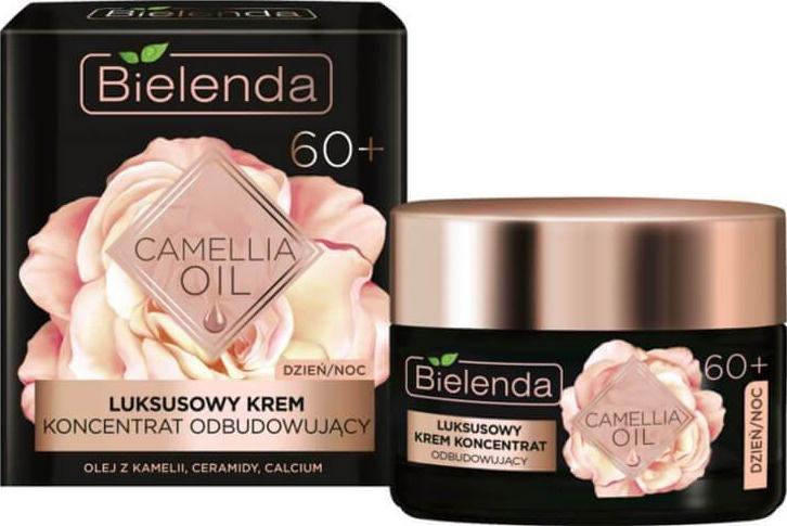 Bielenda Camellia Oil | 60+ Luxury Face Cream Concentrate Rebuilding Day/Night