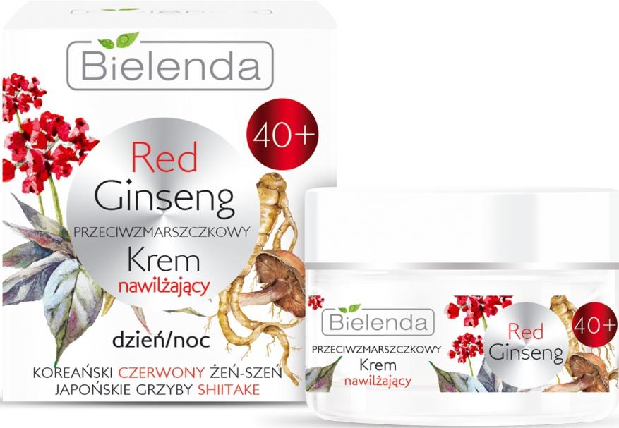 Bielenda Red Ginseng   40+ Anti-Wrinkles Moisturizing Face Cream Day/Night