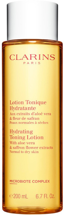 Clarins Hydrating Toning Lotion With Aloe Vera And Sunflower Extract