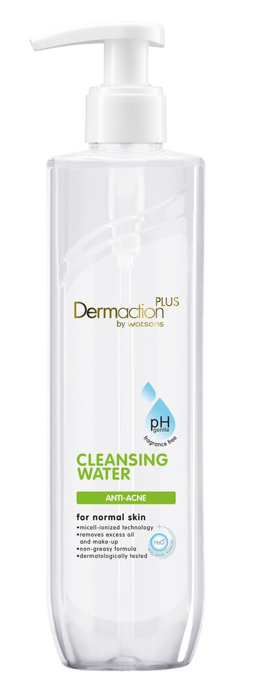 Dermaction plus by watsons Anti-Ane Cleansing Water
