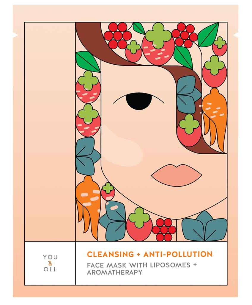 You & Oil Face Mask - Anti-Pollution + Cleansing With Liposomes