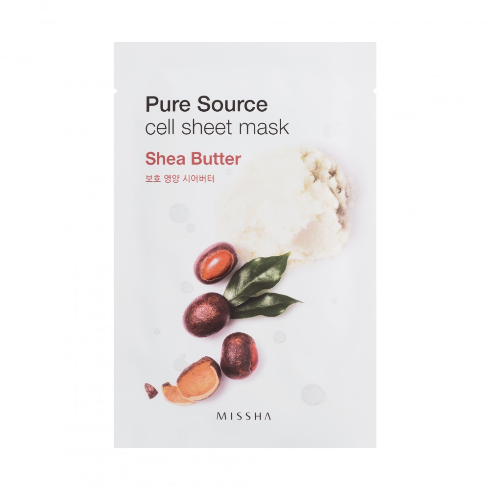 Missha Pure Source Cell Sheet Mask - Shea Butter