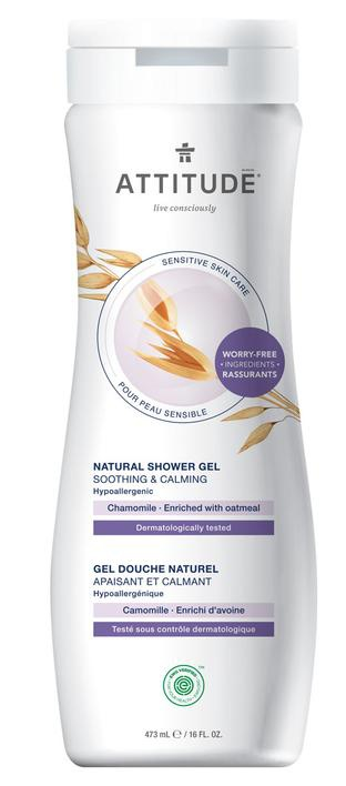 Attitude Soothing & Calming Chamomile Shower Gel