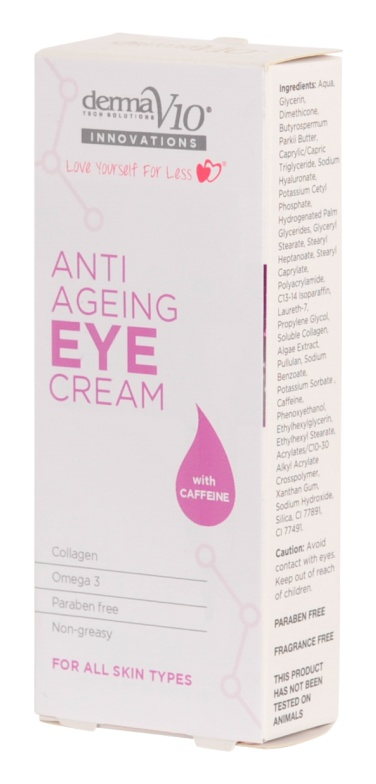 Derma V10 Innovations Anti Ageing Eye Cream