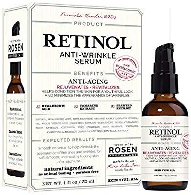 Rosen Apothecary Retinol Anti-Wrinkle Serum