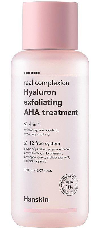 Hanskin Real Complexion Hyaluron Exfoliating Aha Treatment