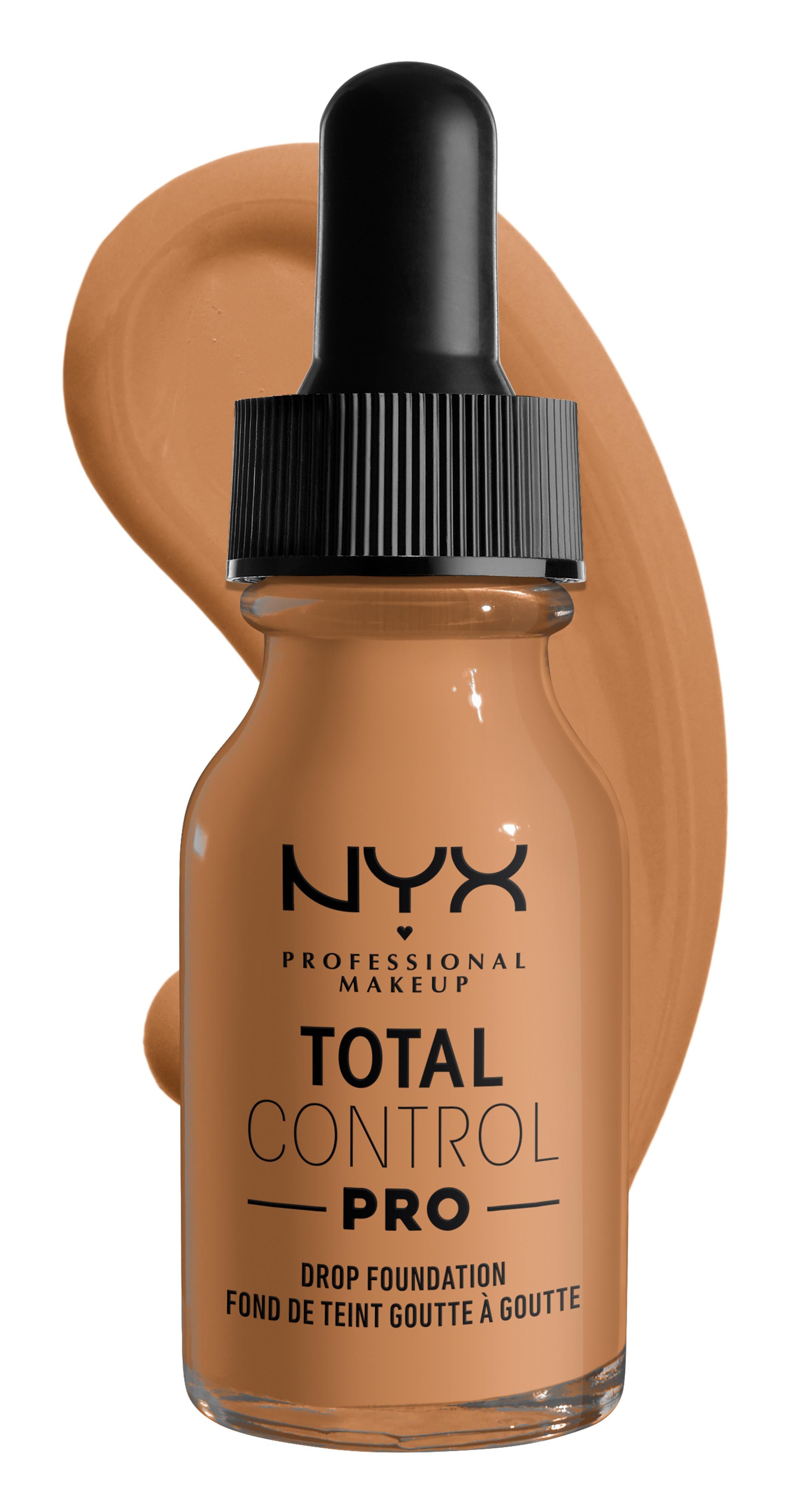NYX Total Control Pro Drop Skin-True Buildable Vegan Foundation