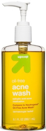 up&up Oil-Free Acne Wash
