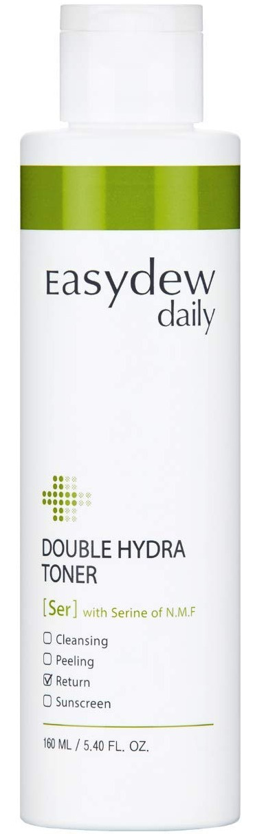 Easydew Daily Double Hydra Toner With Serine Of N.M.F