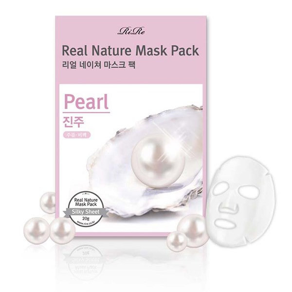 RiRe Real Nature Mask Pack (Pearl)