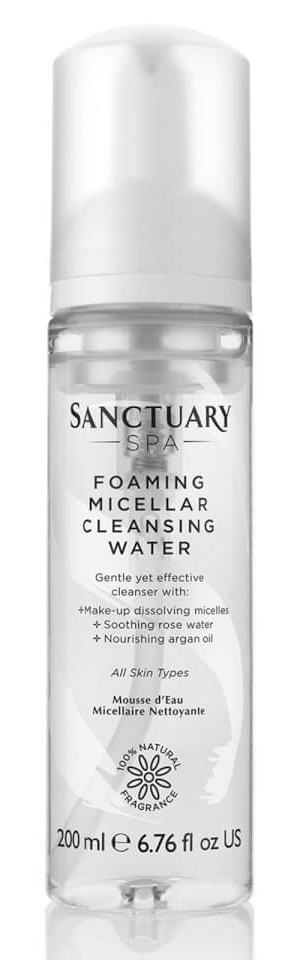Sanctuary Spa Foaming Micellar Cleansing Water