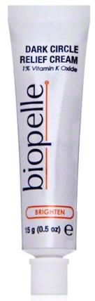 Biopelle Dark Circle Relief Cream 1 Percent Vitamin K Oxide